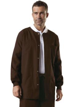 Men's Snap Front Warm-Up Jacket (CE-4450)