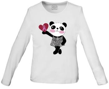 Little Miss Panda Long Sleeve Knit Tee (CE-4709)