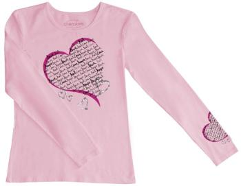 Healing Heart Long Sleeve Knit Tee (CE-4819)