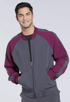 Men's Colorblock Zip Up Warm-Up Jacket (CH-CK330A)