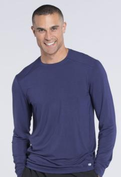 Men's Long Sleeve Underscrub Knit Top (CH-CK650A)