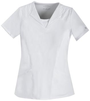 V-Neck Embroidred Top (CH-1934)