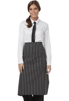 Full Bistro Waist Apron with 2 Pockets (DC-DC58)