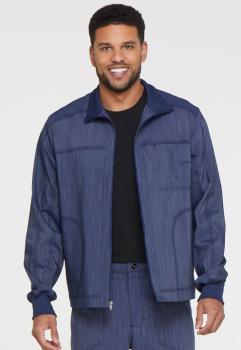 Men's Zip Front Moto Jacket (DI-DK315)