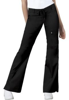 Low Rise Flare Leg Drawstring Cargo Pant (CH-21100T)